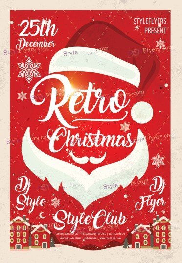 retro-christmas-psd-flyer-template