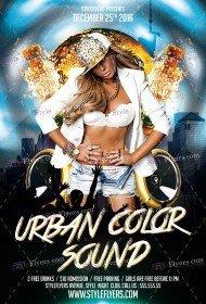 urban-color-sound-psd-flyer-template