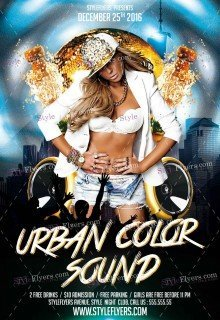 urban-color-sound-psd-flyer-template