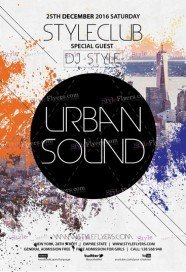 urban-sound-psd-flyer-template