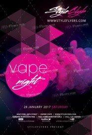 vape-night-psd-flyer-template