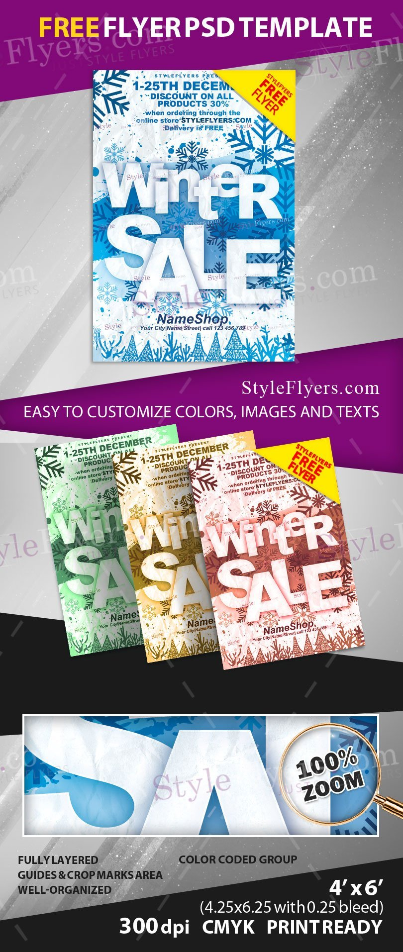 winter psd flyer template 15612 styleflyers w preview w preview