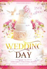 wedding-day-psd-flyer-template