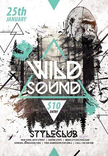 wild-sound-psd-flyer-template