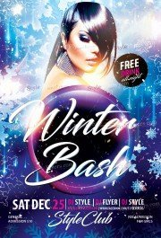 winter-bush-psd-flyer-template