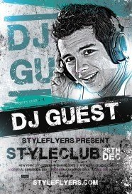 free dj flyer psd templates download styleflyers