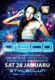 free disco flyer psd templates download styleflyers
