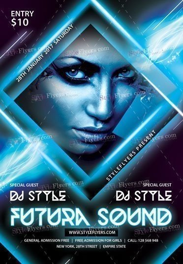 future-sound-psd-flyer-template
