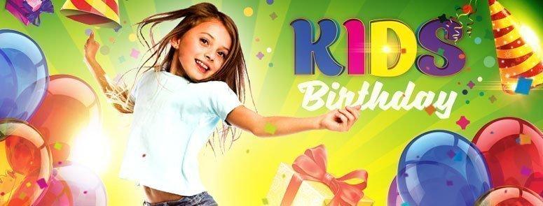 Kids Birthday Flyer preview