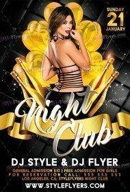 Nightclub PSD Flyer Template