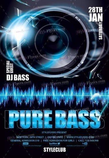pure-bass-psd-flyer-template