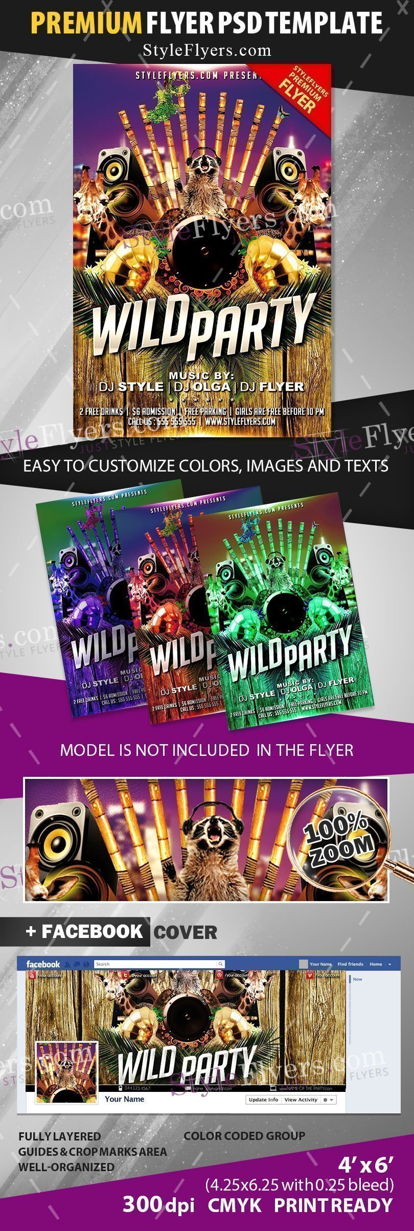 preview_Wild_Party_premium_template