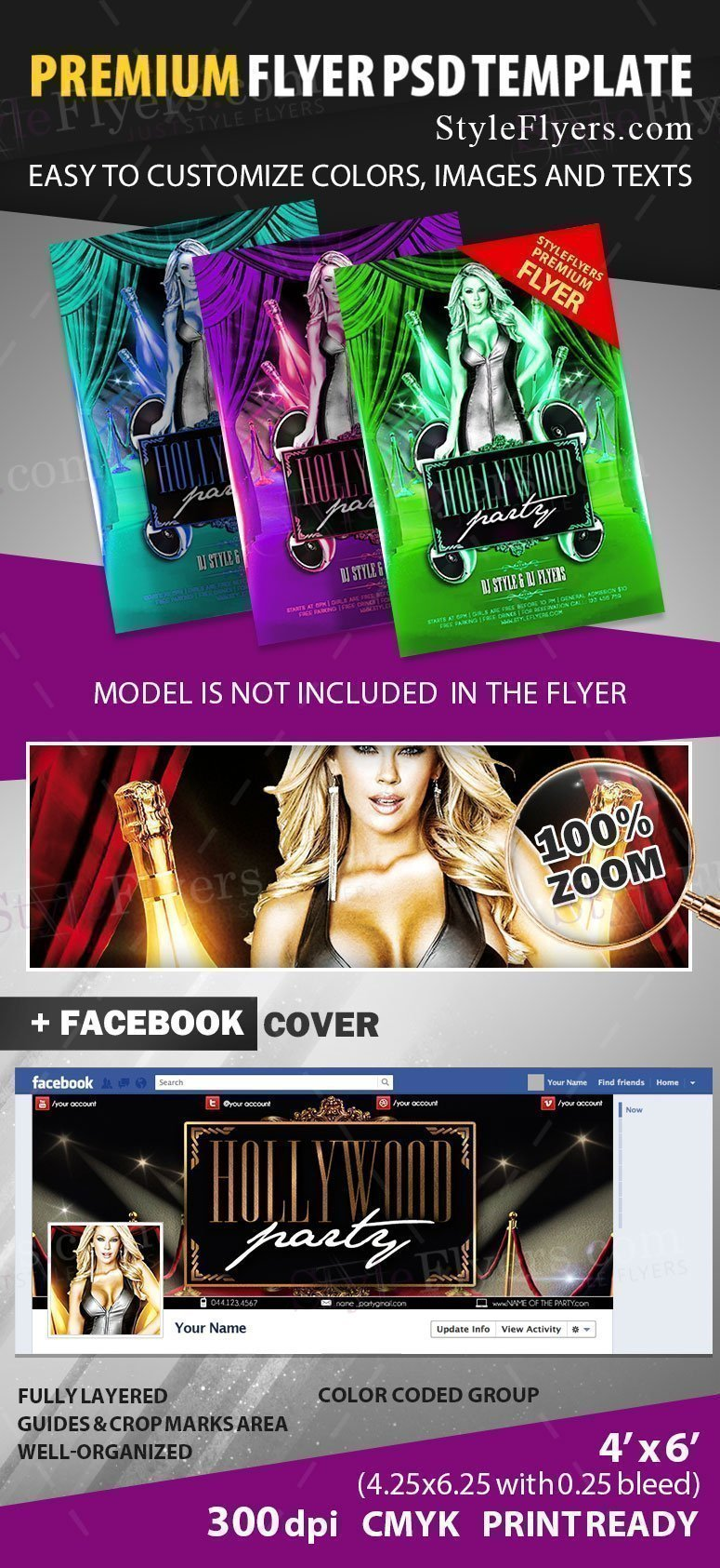preview_hollywood_party_Flyer_PSD_Flyer_Template