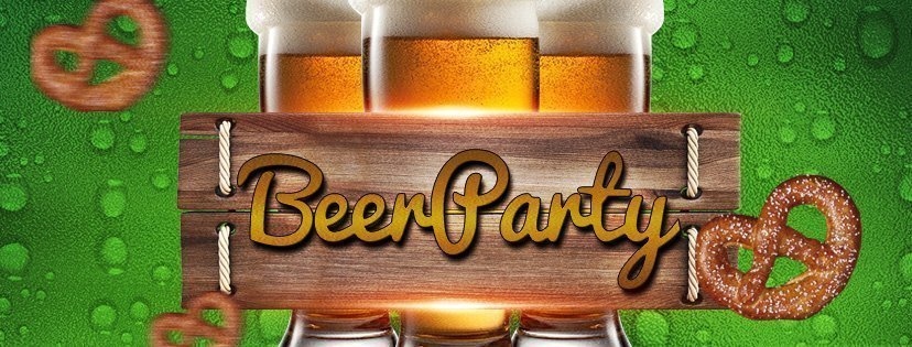 Beer Party PSD Flyer Template (2)