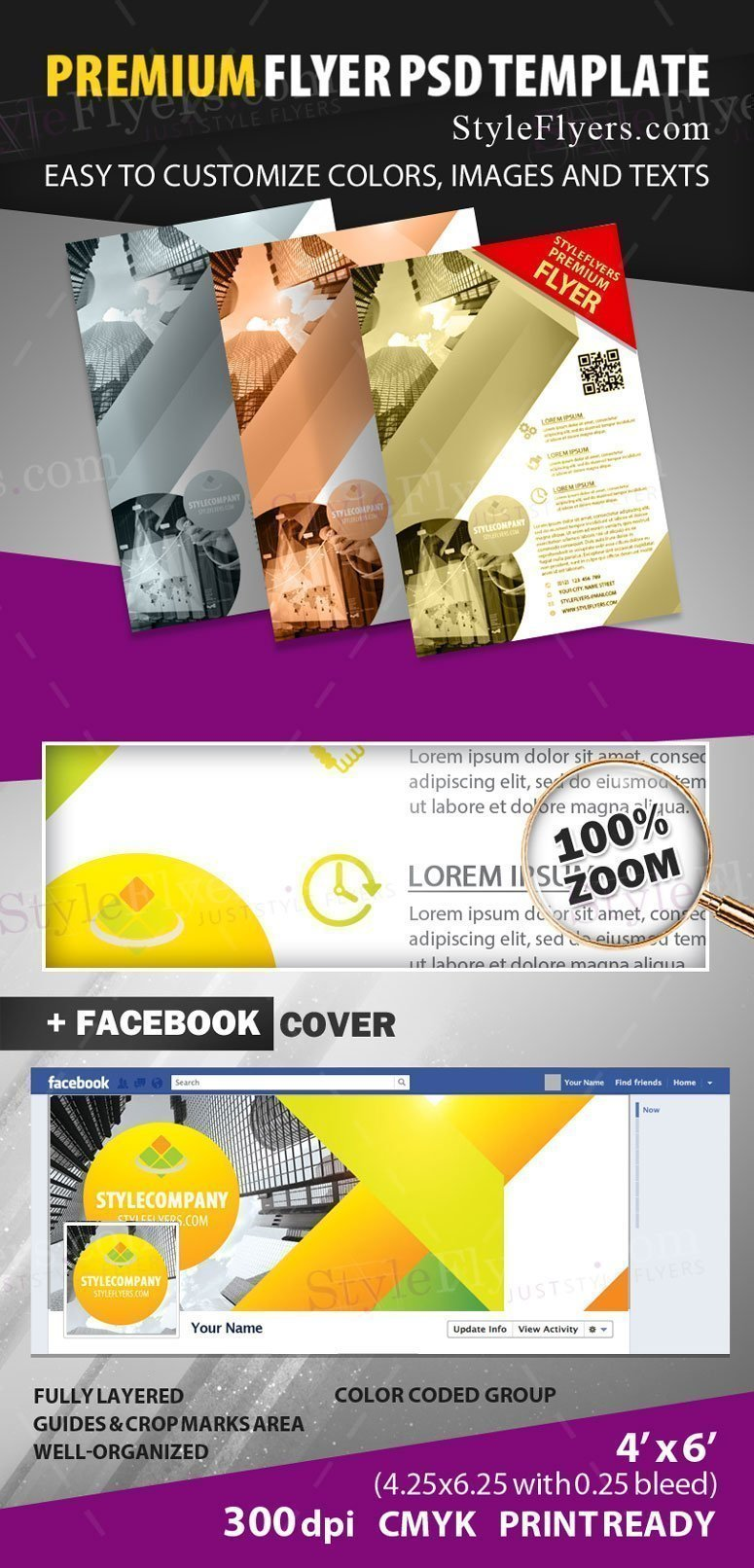 Corporate Flyer preview_premium