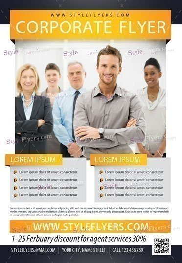 Corporate Psd Flyer Template   Styleflyers