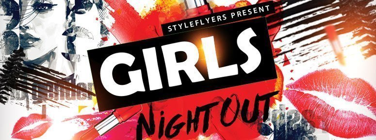 Girls Night Out Flyer preview