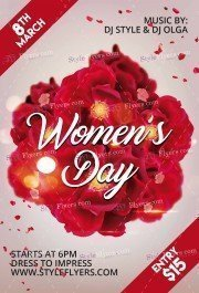 Womens Day PSD Flyer Template