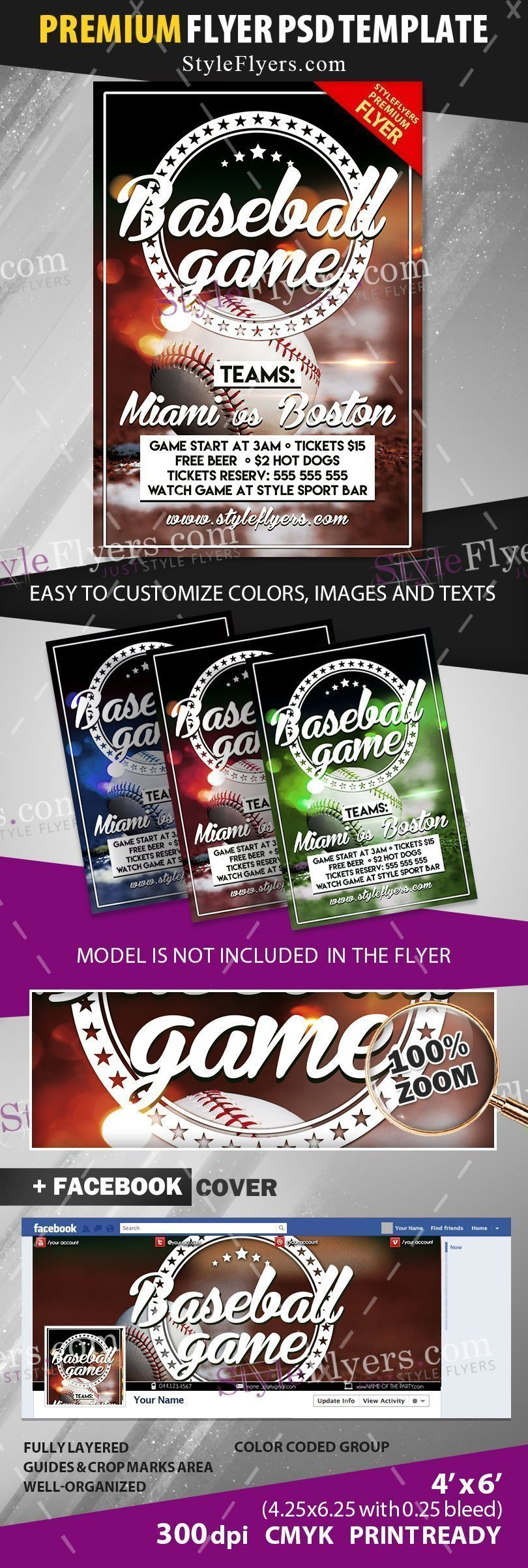 preview_Baseball_Flyer_premium_template