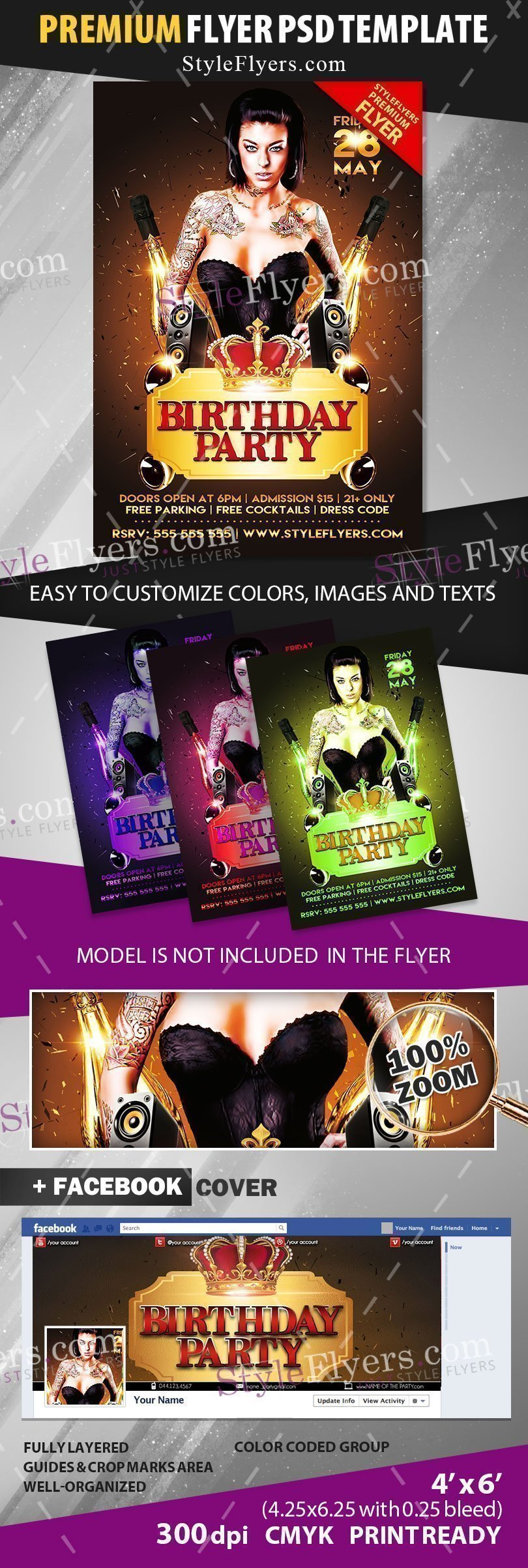 preview_Birthday_party_Flyer_premium_template