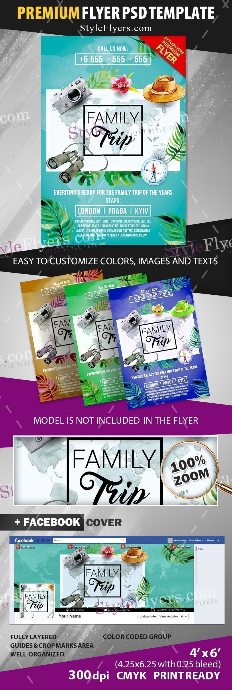 preview_family_trip_Flyer_premium_template