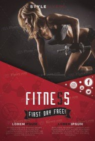 Fittnes_premium_Flyer_PSD_Template