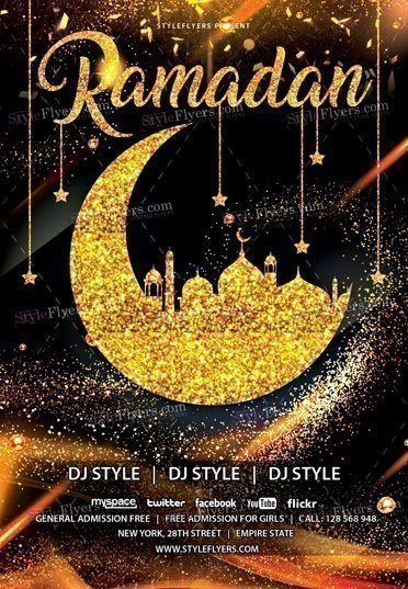 Ramadan PSD Flyer Template