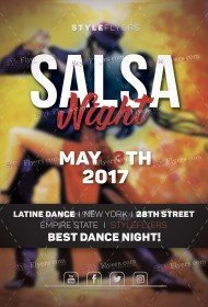 Salsa-night-PSD-Flyer-template
