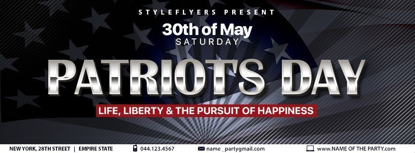 facebook_prev_Patriot's Day_psd_flyer