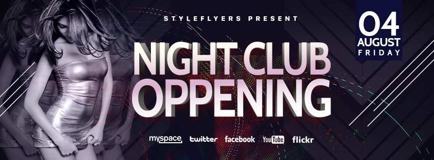 facebook_prev_night club oppening_psd_flyer