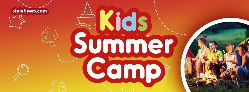 facebook_prevkids summer camp_psd_flyer