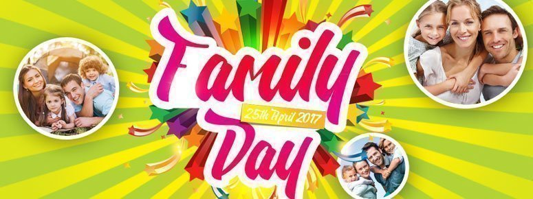 Family Day PSD Flyer Template #18387 - Styleflyers