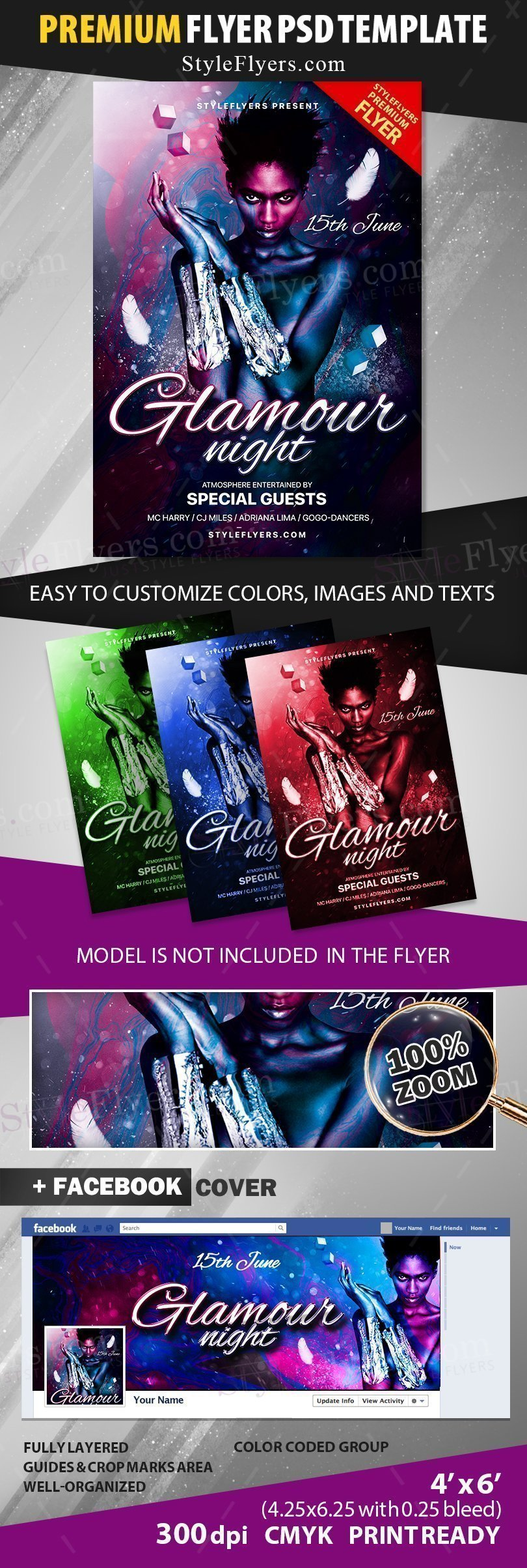 preview_Glamour Night_psd_flyer