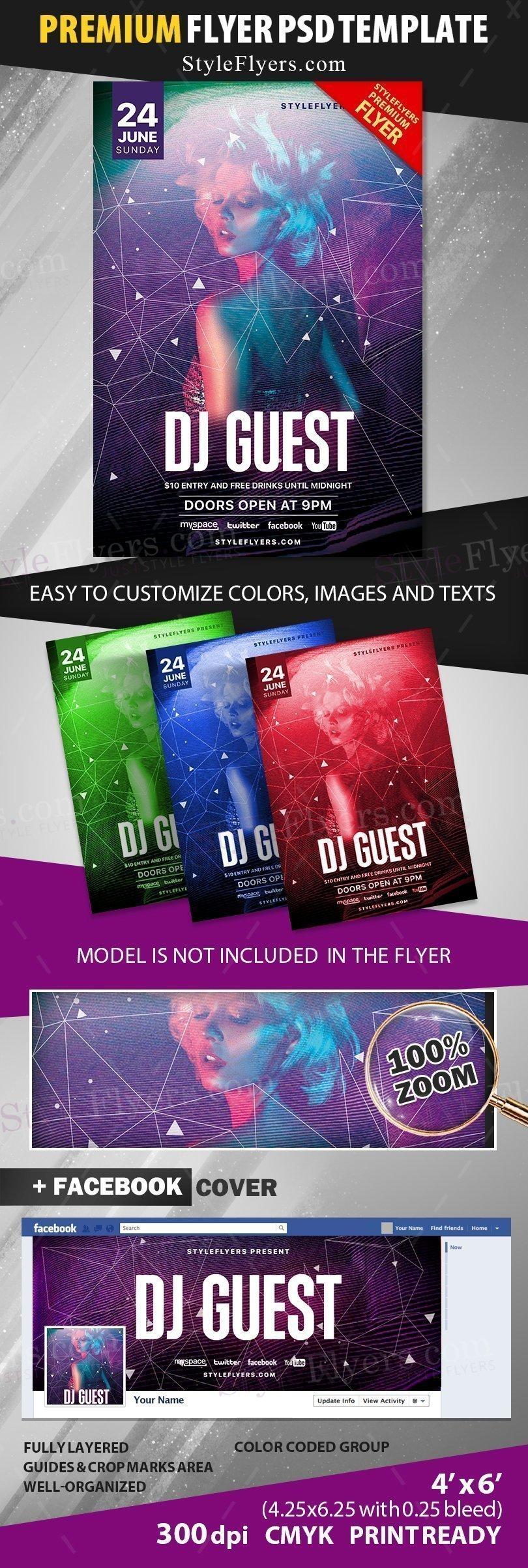 preview_guest dj_psd_flyer