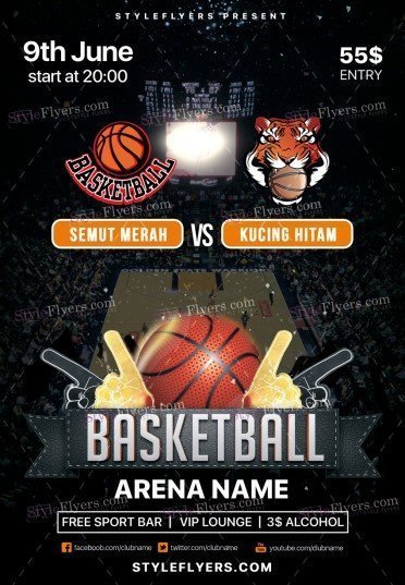 Basketball PSD Flyer