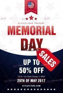 Memorial Day Car Sales 2017 >> Photographer PSD Flyer Template #6004 - Styleflyers