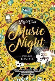 Music-Night-Flyer