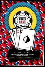 Poker PSD Flyer Template