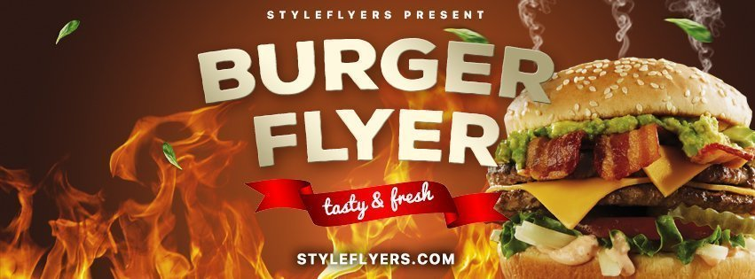 facebook_prev_burger_psd_flyer