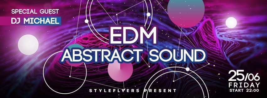 facebook_prev_edm abstract sound_psd_flyer