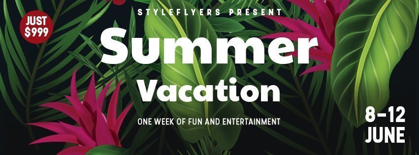 facebook_prev_summer vacation_psd_flyer