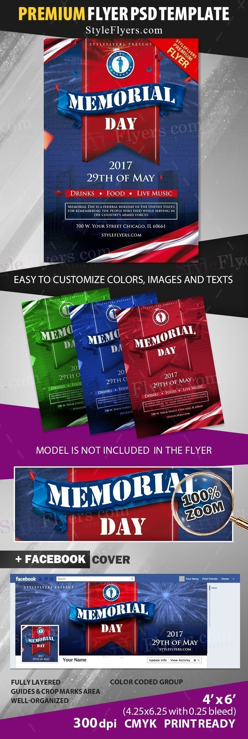 preview_Memorial Day_psd_flyer