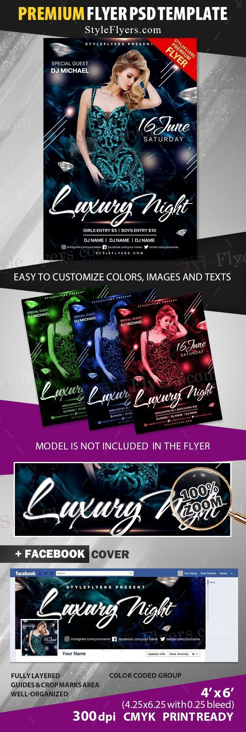 preview_luxury night_psd_flyer
