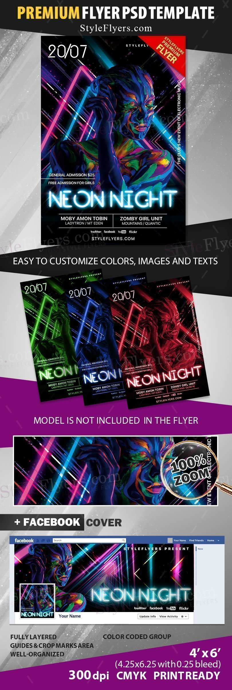 preview_neon night_psd_flyer