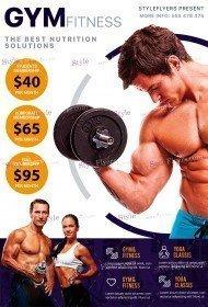 Fitness PSD Flyer Template