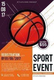 Sport PSD Flyer Template