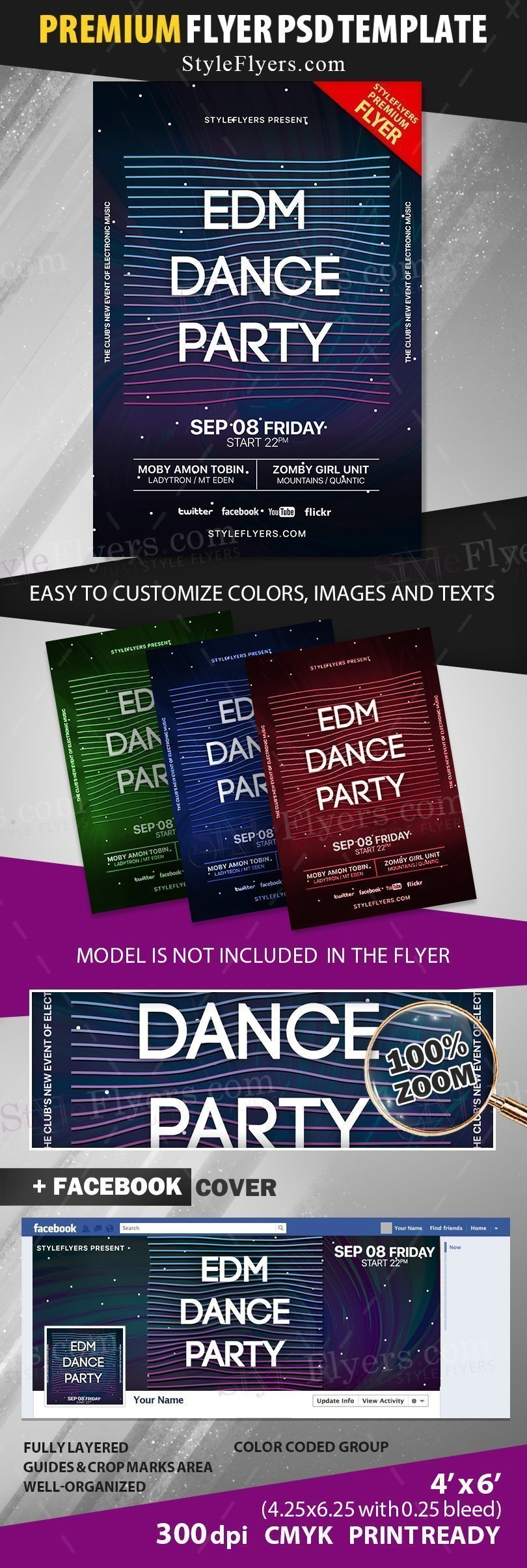 preview_EDM Dance Party_psd_flyer