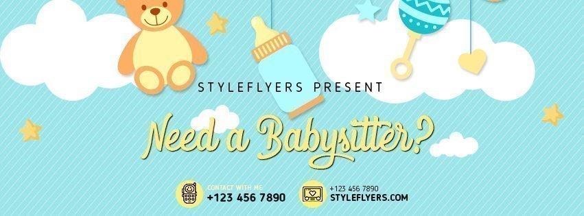 facebook_prev_Babysitting_psd_flyer