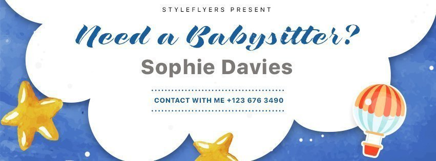 facebook_prev_Babysitting_psd_flyer