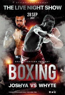 Boxing Day PSD Flyer Template